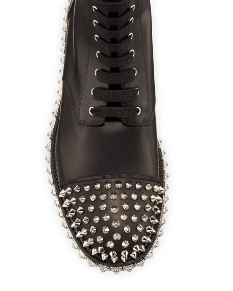 Christian Louboutin King Beaded Red Sole Booties