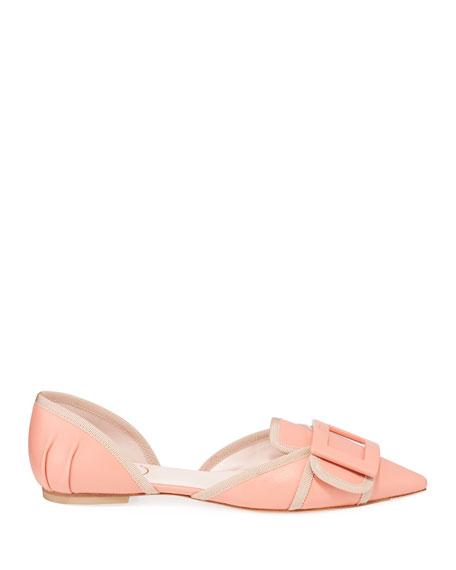 Roger Vivier Soft Gommette Ballet Flats