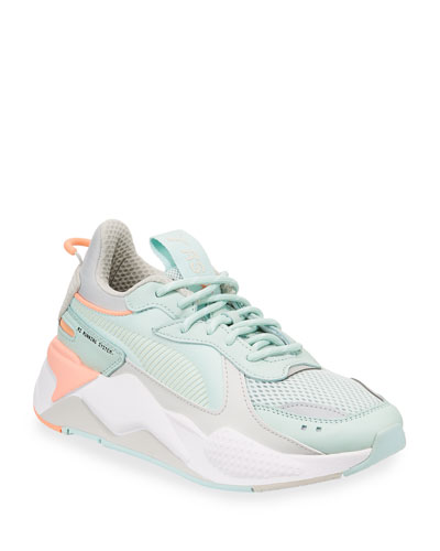 RS-X Tracks Lace-Up Trainer Sneakers