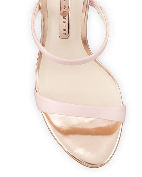 Sophia Webster Rosalind Strappy Leopard-Heel Sandals