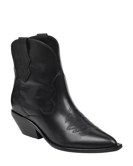 Sigerson Morrison Taima Two-Tone Booties