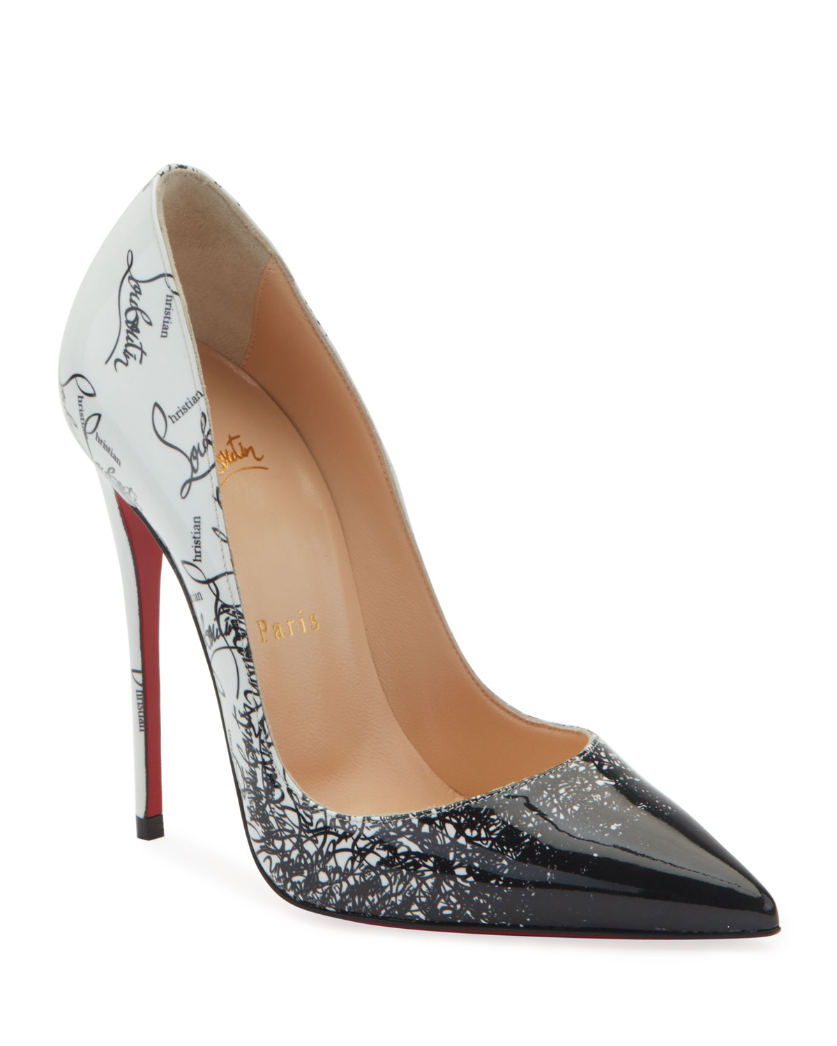 low priced 3554f 8d16d So Kate 120mm Patent Degraloubi Red Sole Pumps