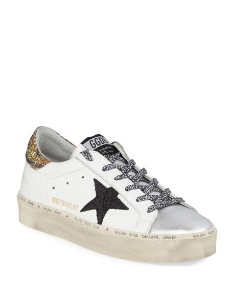 Golden Goose Hi Star Tiger Leopard Sneakers
