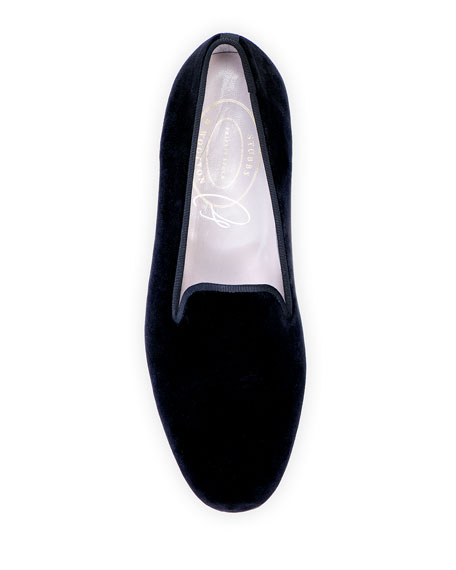 Stubbs and Wootton Private Stock Velvet Slippers