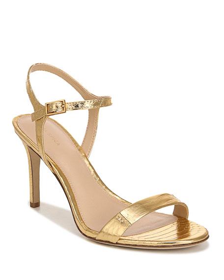 Priydora Metallic Spike Red Sole Sandals