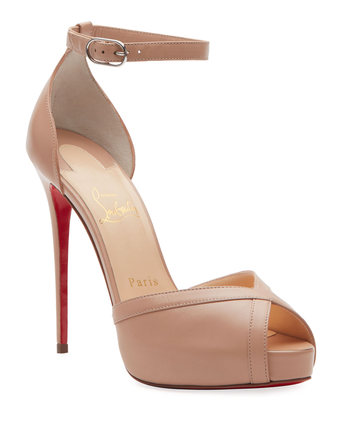 Christian Louboutin Very Cathy 120 Red