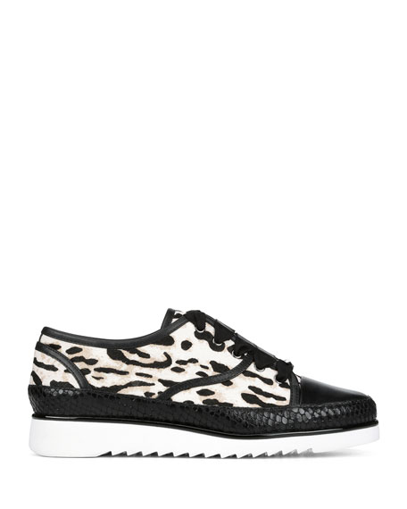 Donald J Pliner Flipp Calf Hair Sneakers