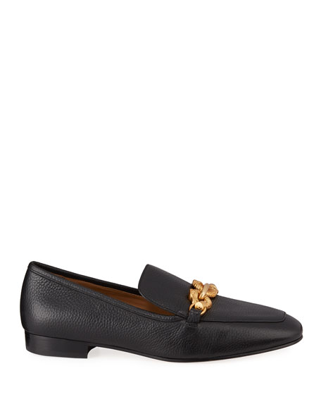 Tory Burch Jessa Horsebit Flat Loafers