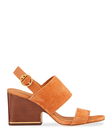 Image 2 of 4: Selby 75mm Block-Heel Sandals