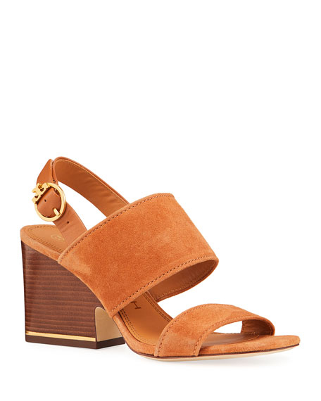 Image 1 of 4: Selby 75mm Block-Heel Sandals