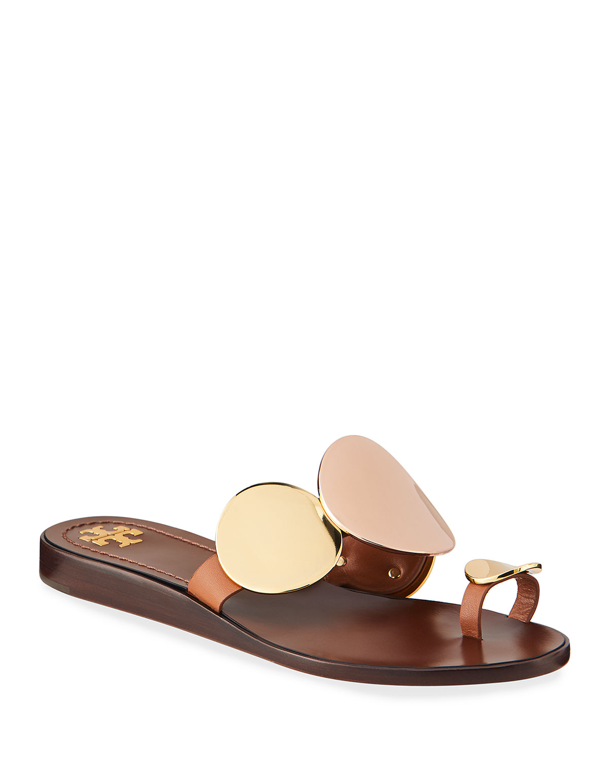 Tory Burch Patos Multi Disk Sandals