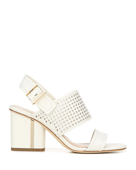 Via Spiga Harriett2 Leather Slingback Sandals