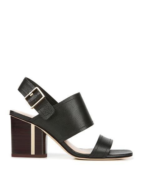 Via Spiga Harriett Leather Slingback Sandals