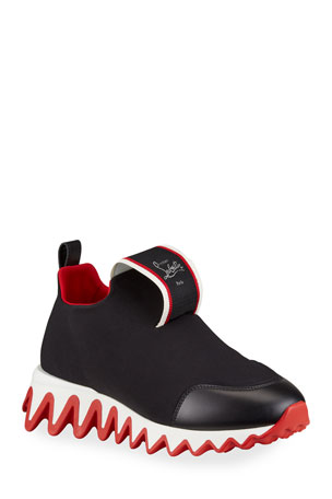 Christian Louboutin Tiketa Slip-On Red Sole Runner Sneakers