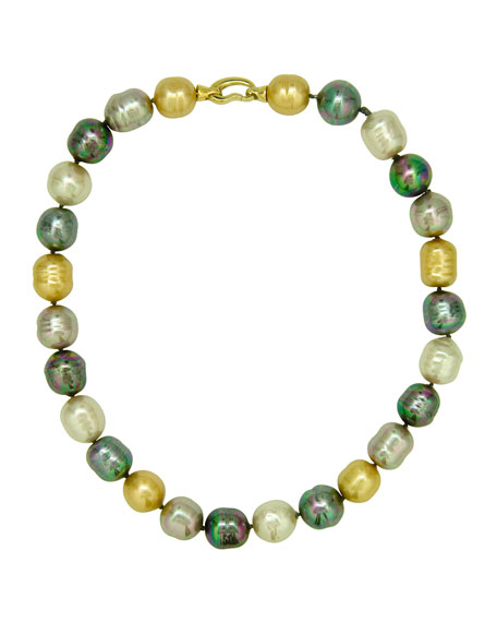 Majorica Multi-Pearl Necklace