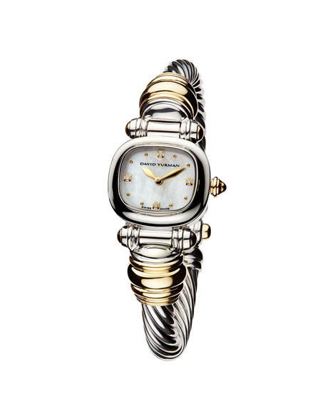 CABLE WATCH SILVER & GOLD