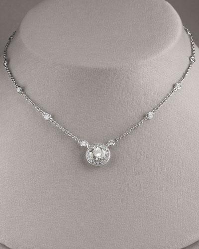 Clear Pendant Necklace