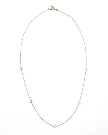Five-Station Diamond Necklace