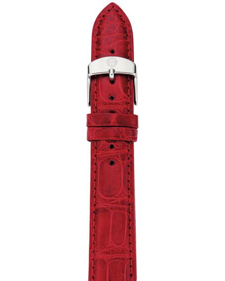 16mm Gator Strap, Red