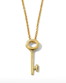 Roberto Coin Key Pendant Necklace