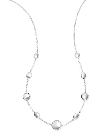 "Wonderland Quartz Necklace, 18""L"