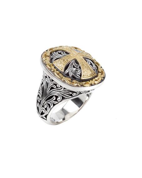 Square Cross Ring