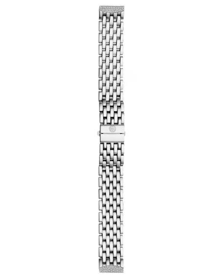 16mm Urban Mini Diamond Bracelet, Steel