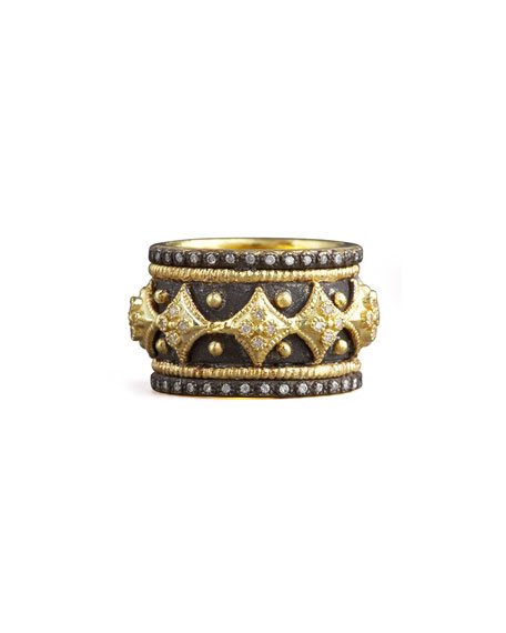 Diamond Cravelli Cross Band Ring