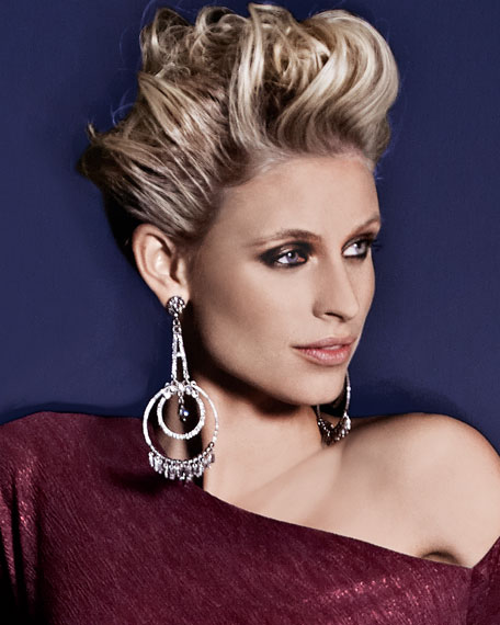 Beaded & Pave Crystal Earrings
