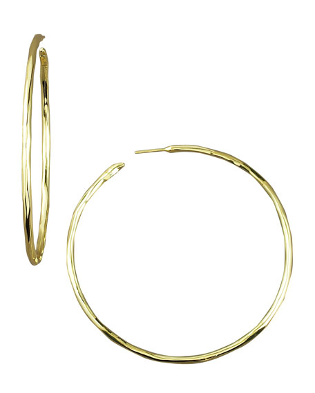 IppolitaThin Glamazon Hoop Earrings, Large