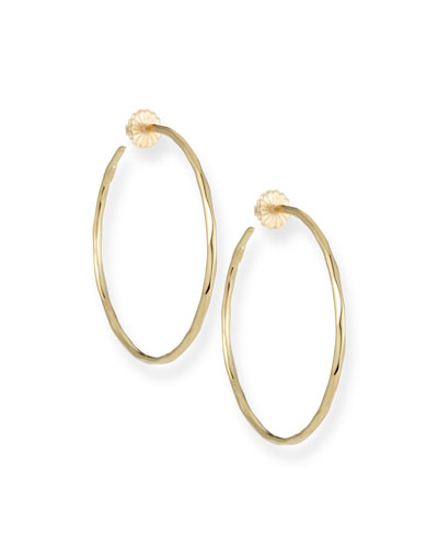Ippolita Thin Glamazon Hoop Earrings, Medium