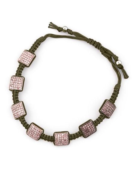 Braided Amethyst Bracelet