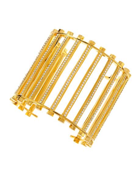 Grate Cuff, Gold
