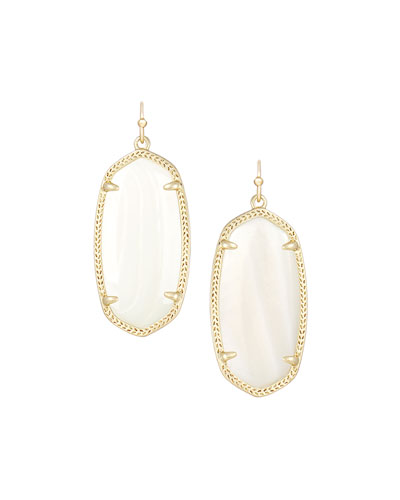 Kendra Scott Elle Earrings, Mother-of-Pearl