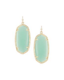Kendra Scott Elle Earrings, Chalcedony