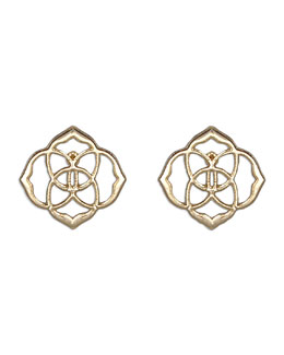 Kendra Scott Dira Stud Earrings, Gold