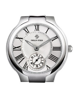 Philip Stein 20mm Large Round Watch Head, Steel