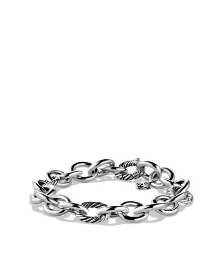Round and Oval Link Bracelet