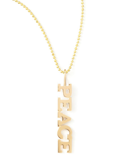 Personalized Five-Letter Necklace