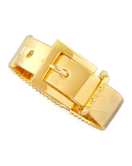 Buckle Bracelet, Gold