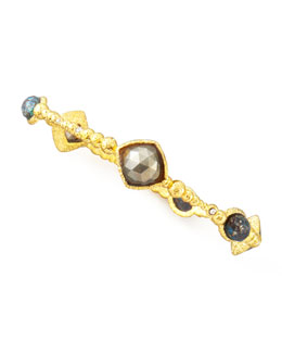 Alexis Bittar Cordova Bangle, Pyrite