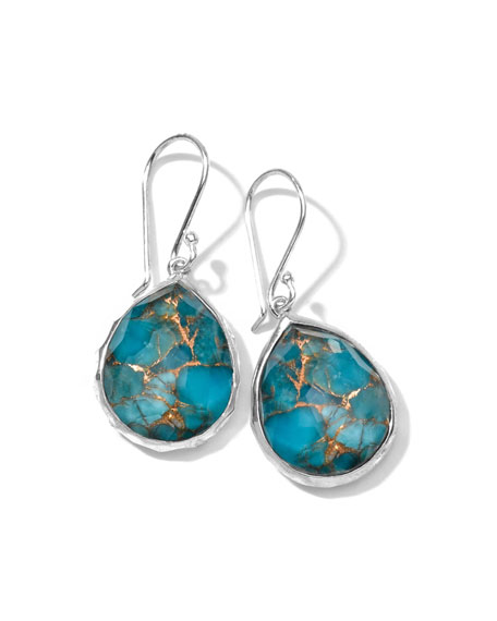 Wonderland Mini Turquoise Teardrop Earrings