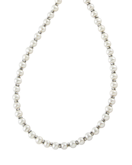 "Pearl Necklace, 18""L"