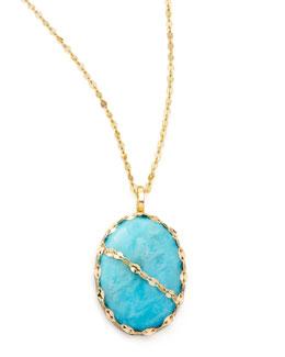 Lana Turquoise Pendant Necklace