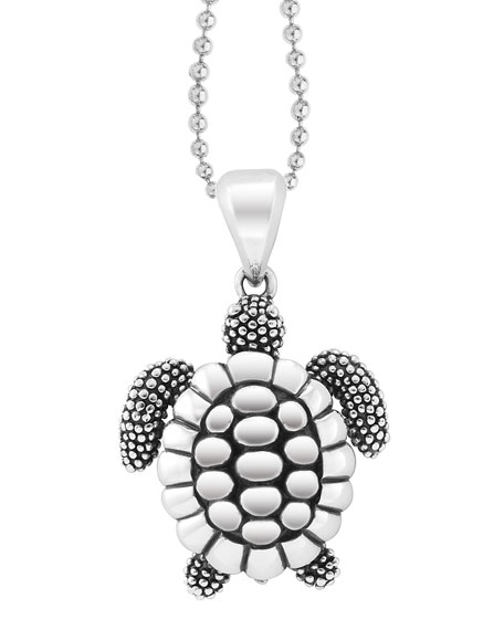 Rare Wonders Sea Turtle Pendant Necklace