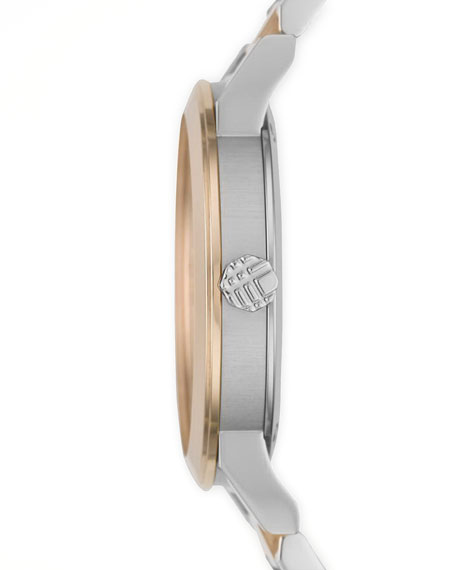 Rose Golden Check Watch