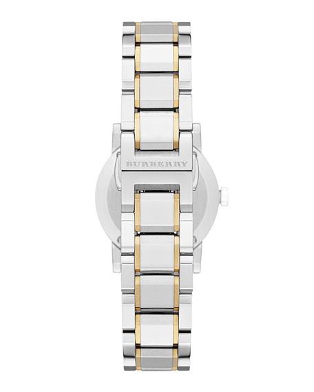 Round Yellow Golden Stainless Steel Watch, 26mm