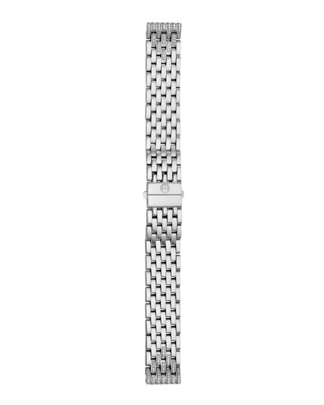 16mm Tapered-Diamond Watch Bracelet