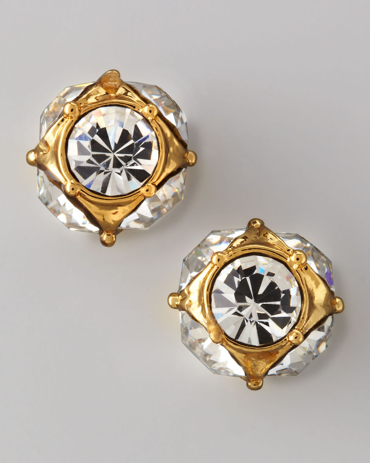 70a1e4183 kate spade new york lady marmalade rhinestone ball stud earrings ...