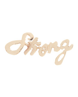 Lana Strong Mini 14k Gold Single Earring